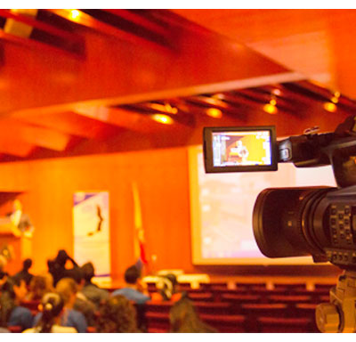 grabacion en audio y video asambleas